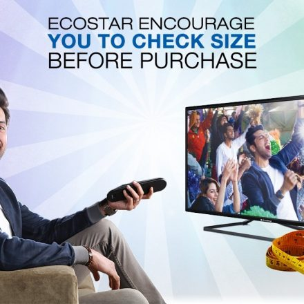 Are you sure about your LED TV size? EcoStar brings Fahad Mustafa