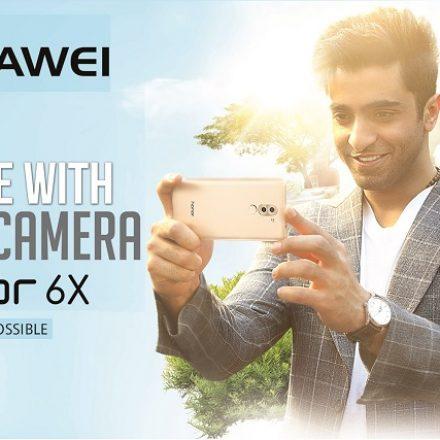 New Brand Ambassador for Huawei – Shehryar Munawar