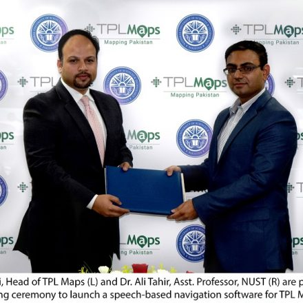 Voice based navigation to be the game changer via NUST & TPL Maps