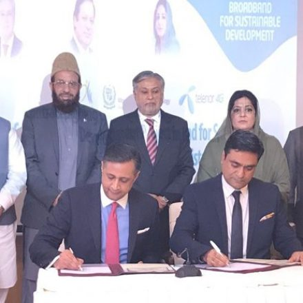 USF supports Telenor for provision of Telecom Services in Kohistan Region
