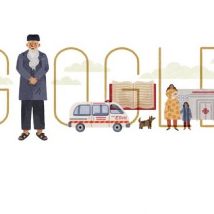 Google paid tribute to Edhi on his 89th birthday – The Noblest Philanthropist