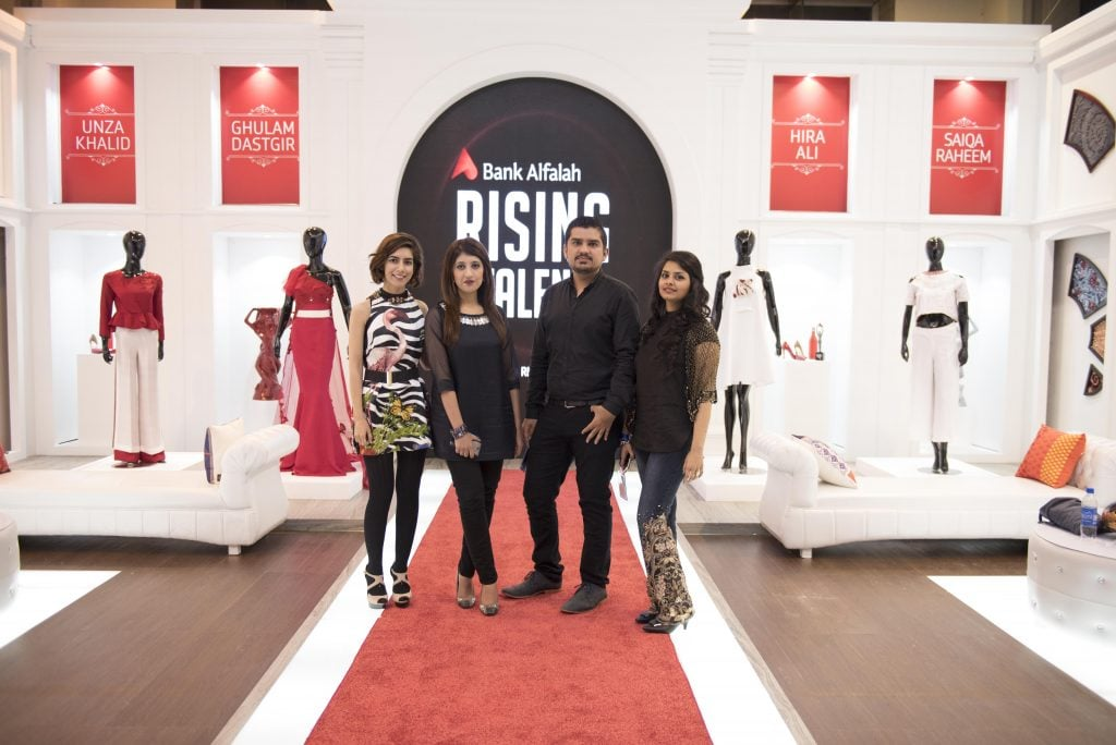 Each Of The Four Rising Talent Contestants Was Personally Available For Interaction With Public And Media Alongside Bank Alfalahs Stalls That Featured
