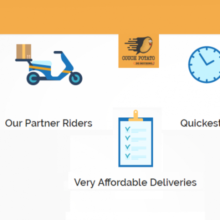 Couch Potato, the first app based delivery service in Pakistan