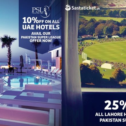 PSL fans can now catch the Matches Live in UAE with sastaticket.pk