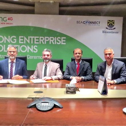 Zong equips Beaconhouse School System with Advanced Connectivity Solution