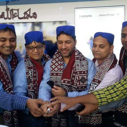 Umer Ghumman of Samsung visits Hyderabad to interact and gain market insights