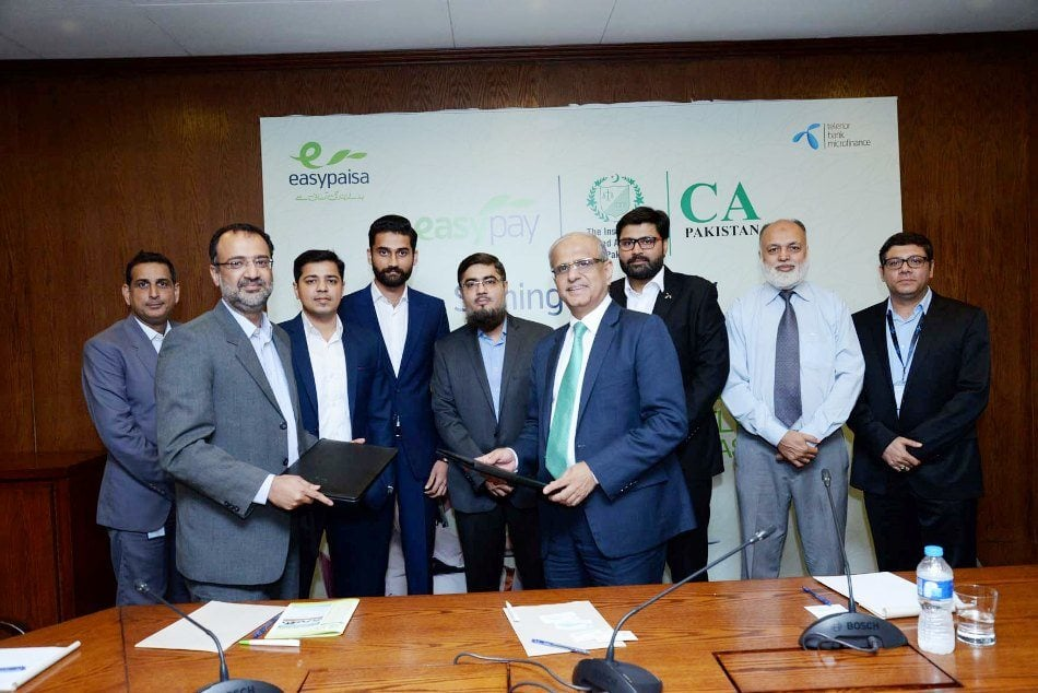 Pakistan's first and largest branchless banking service, Easypaisa, for providing online payments solution to its students and members.