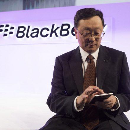 BlackBerry's CEO John Chen predicts profit in fiscal 2018