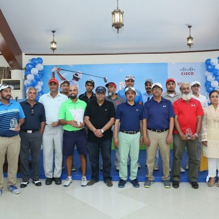 DWP Group organized a Golf Tournament at DHA Country and Golf Club, Karachi