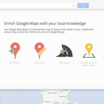Google has eliminated its map maker service