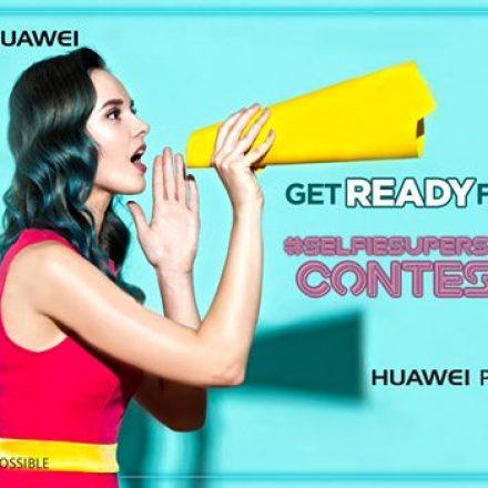 Snap Selfies & Win the Selfie-Superstar – Huawei P10 Lite