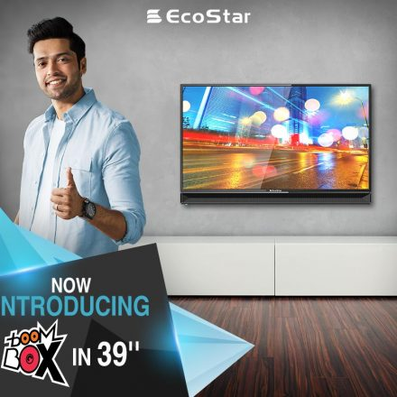 EcoStar has launched Boom Box 39 inches LED TV
