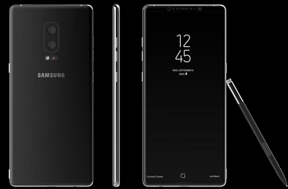 Now, according to a leak by SamMobile, it is confirmed that the upcoming Samsung Galaxy Note 8 will have a huge bezel-less display.
