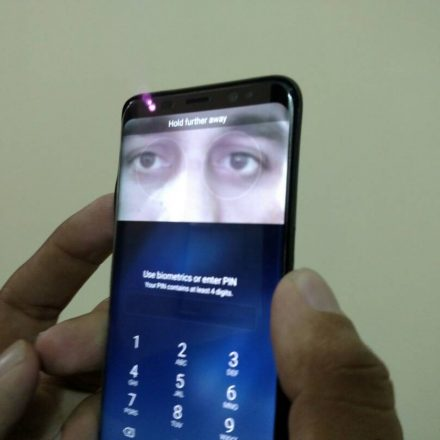 Samsung again get challenged by CCC,  started investigating Galaxy S8 iris hack