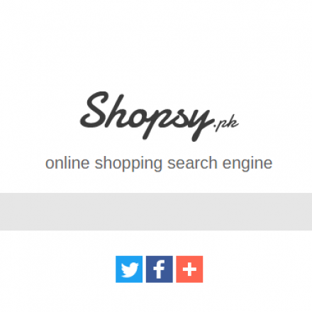 Here we present Google for online shopping in Pakistan – Shopsy