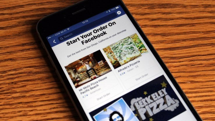 As if it wasn't already easy to order food online, Facebook has now introduced a method in which users can simply order food within the app, without
