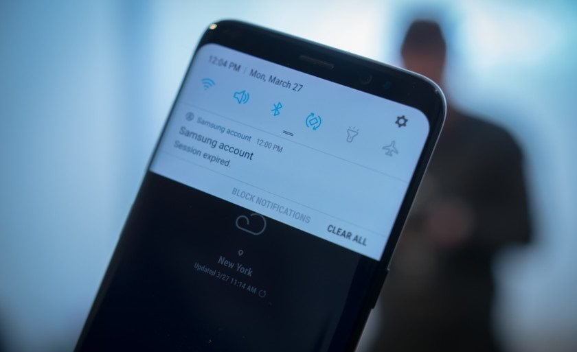 If your phone is blowing up with notifications all the time avail Samsung's permission Galaxy S8 users to customize all notifications to their specific