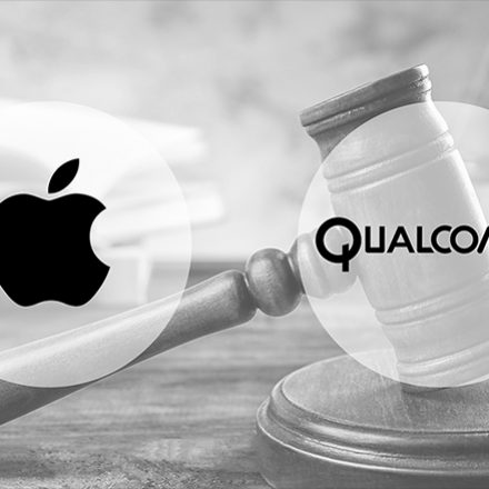 Apple filed the case against Chipmaker Qualcomm