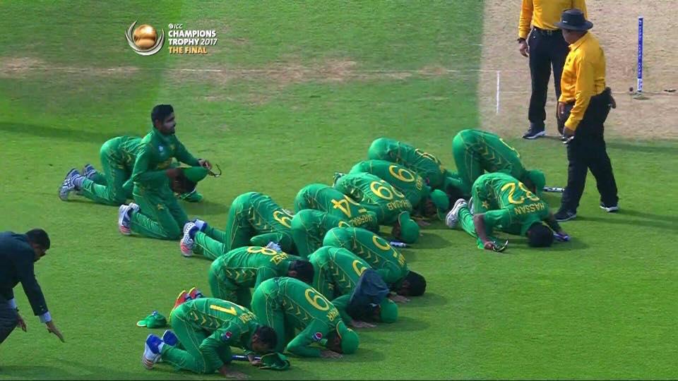 "Indians team Balatkhar! ""Aik hoti haar or Aik hoti hai Zalalat"" its like dream comes true beating Indian team by 180 runs."