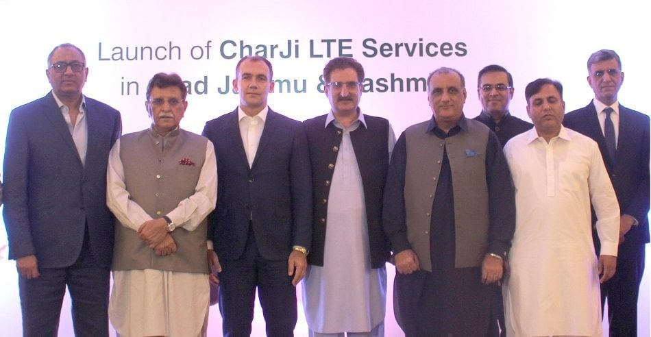 PTCL, Pakistan's leading ICT and Broadband service provider, has launched the Charji 4G LTE service in Azad Jammu & Kashmir (AJK).
