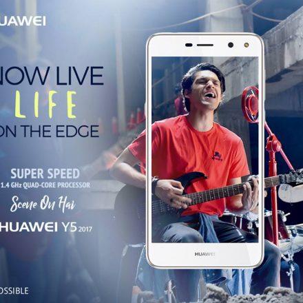 Huawei Y5 2017, the superlative fast smartphone
