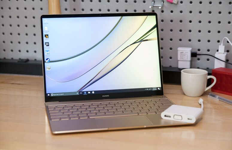 Huawei has made its entrance into the Windows 10 notebook market with a rather impressive MacBook clone, called the MateBook X. The device