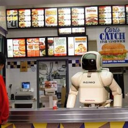 Would letting robots fill in for humans in the kitchen may actually increase job growth?
