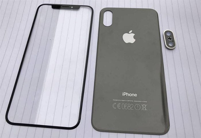 The front and the back panel of the iPhone 8 have been reportedly been exposed, with the leak coming from someone belonging to the Apple supply chain.