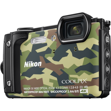 Get your underwater shooting dreams fullfilled with Nikon Coolpix W300 camera