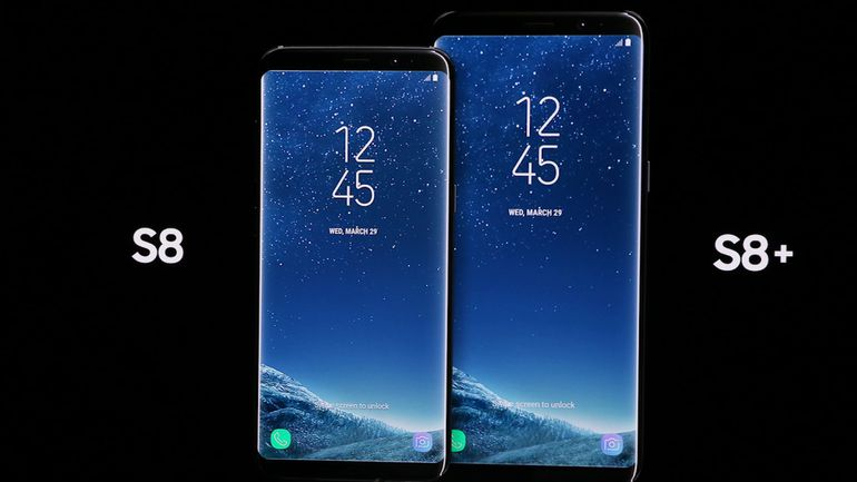 Image result for Samsung Galaxy S8 and S8 Plus