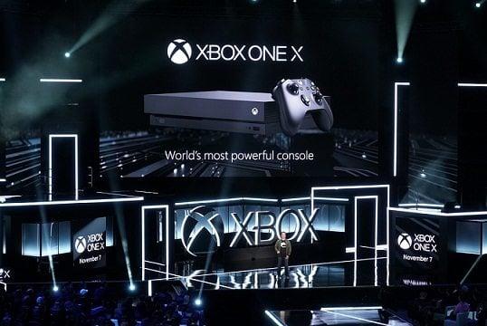 Powerful Xbox One X - Microsoft's new Powerful 4K console