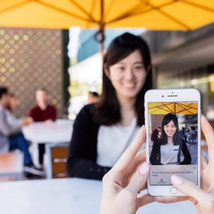 iPhone App launched by Microsoft narrates the World for the blind