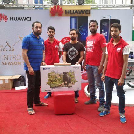 Huawei Rewarding its Customers with Mega Prizes