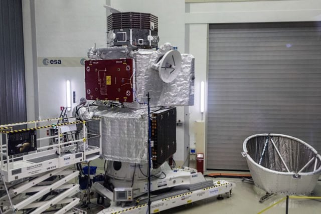 Scientists from Japan and Europe disclosed the BepiColombo spacecraft ahead of its 7-year journey to Mercury on Thursday, to discover one of the Solar
