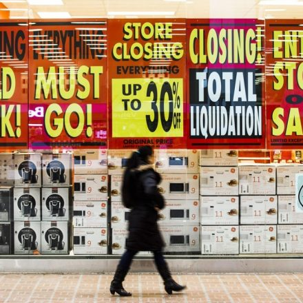 The retail apocalypse has officially descended on America