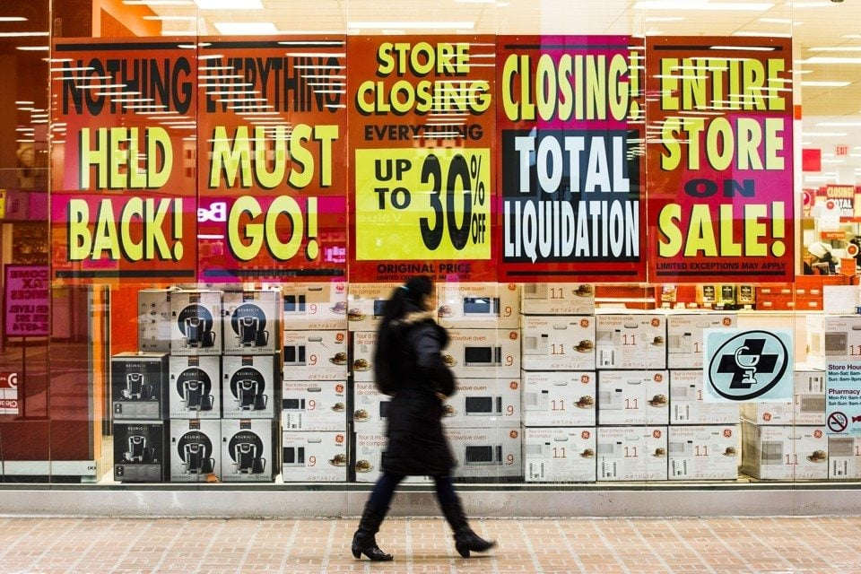 Thousands of mall-based stores are expected to shut down in what is rapidly becoming one of the biggest waves of retail closures in decades.