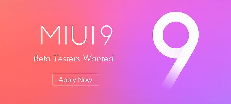 MIUI 9 Xiaomi's latest software version, MIUI 9 has been in beta for quite the while, and we have seen quite a lot of its features surface in rumors before.