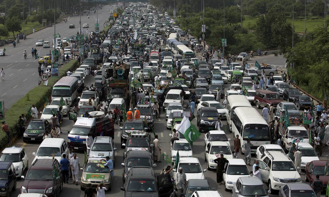 Road trip rally, blockage of cellular services: Another proof of Nawaz's ineligibility