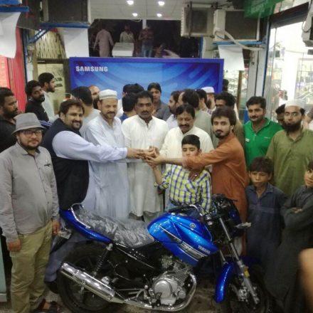 Samsung make winners to Multan & Bahawalpur Mobile consumers