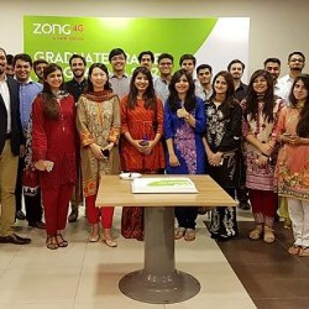 Young Graduates successfully inducted in Zong 4G's GTO Programme