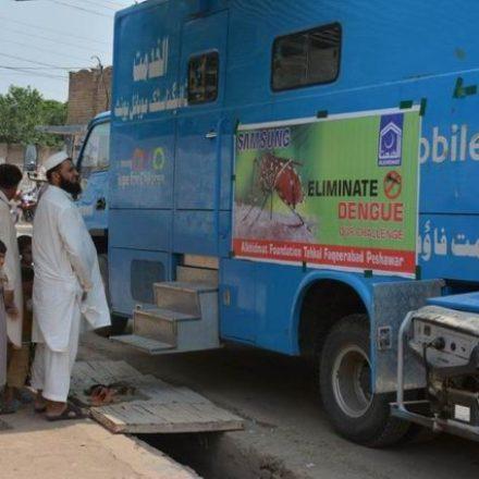 Samsung's Health Van Shifted towards KPK to encounter Dengue Fever
