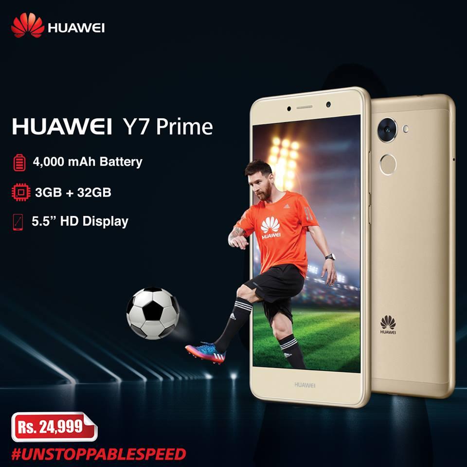 Huawei Y7 Prime – the Hero of Smartphone Gaming
