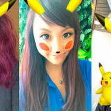 Pikachu yourself now with Snapchat