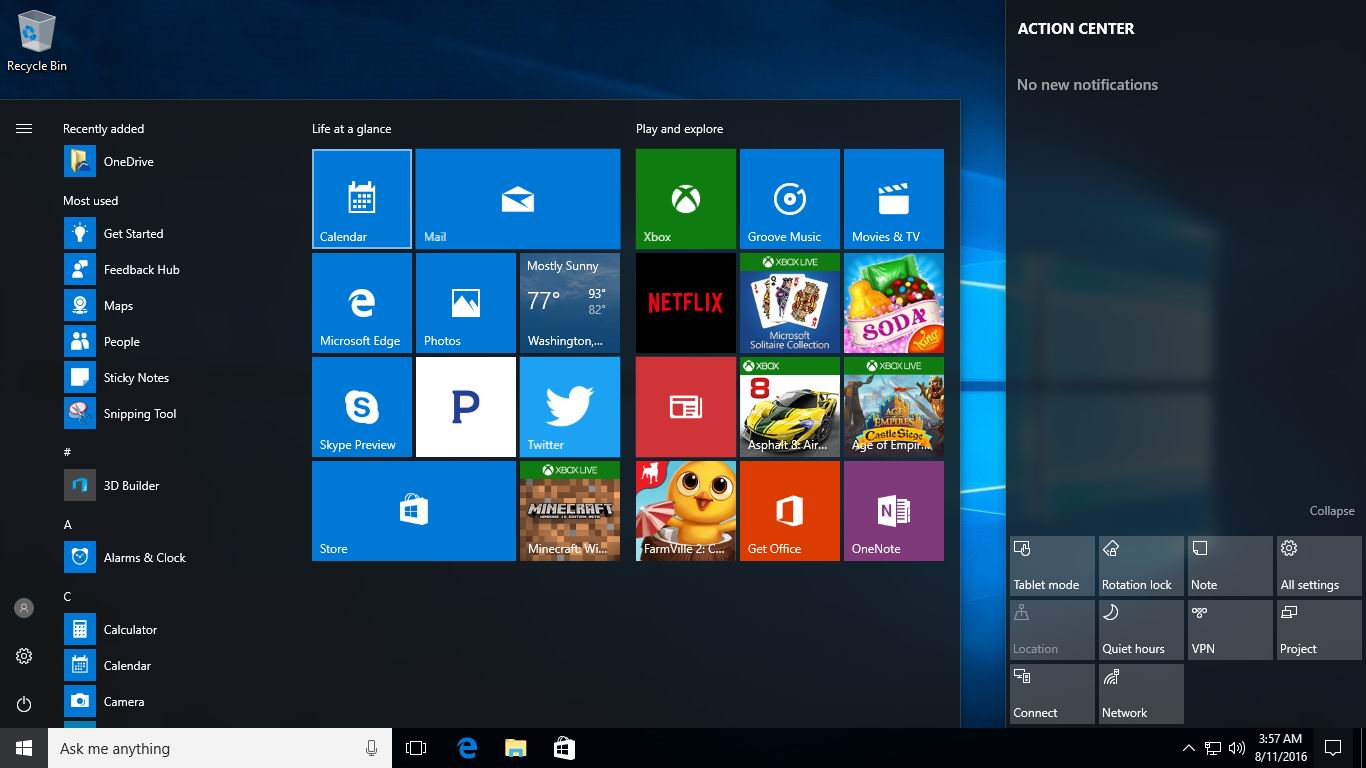 Simple solution If Start Menu Not Showing Apps in Windows 10