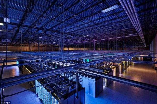 Virtual Tour of Google Data Centre