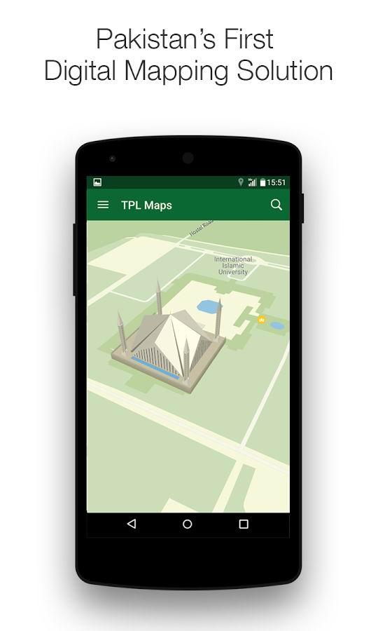 TPL Maps Launches Pakistan's First Urdu Digital Maps