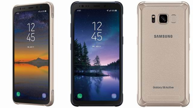 Gorilla Glass wrapped Galaxy S8 Active ditches the Infinity Display for ruggedness
