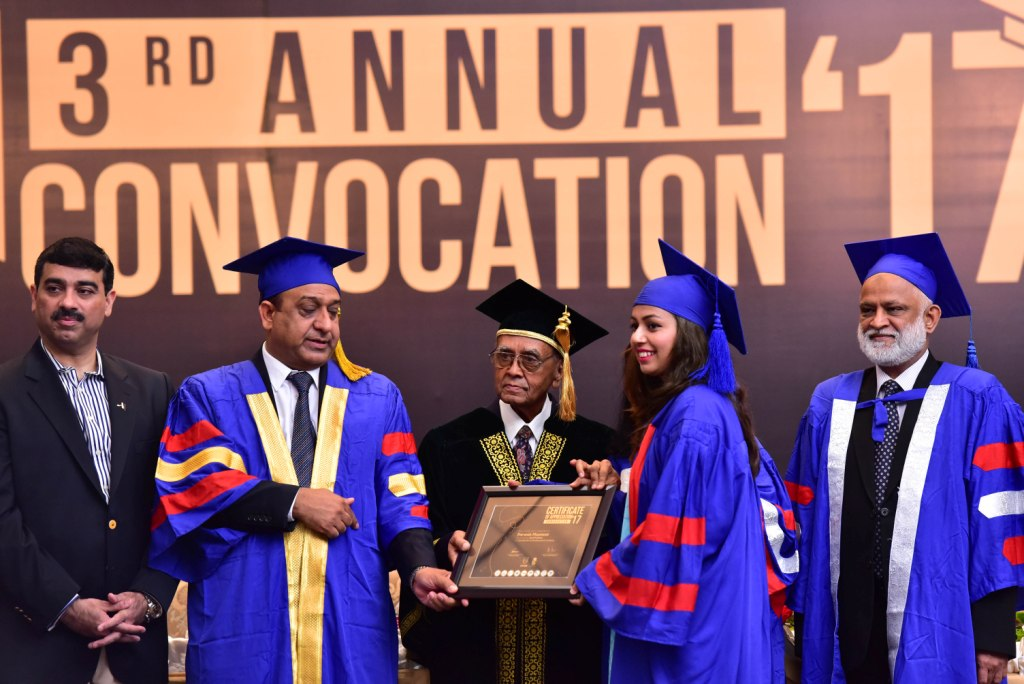 3rd Annual Convocation of COTHM Karachi added 100 more Graduates to Hospitality Industry