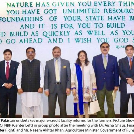 NBP Undertakes E-Credit Facility Reform For Farmers