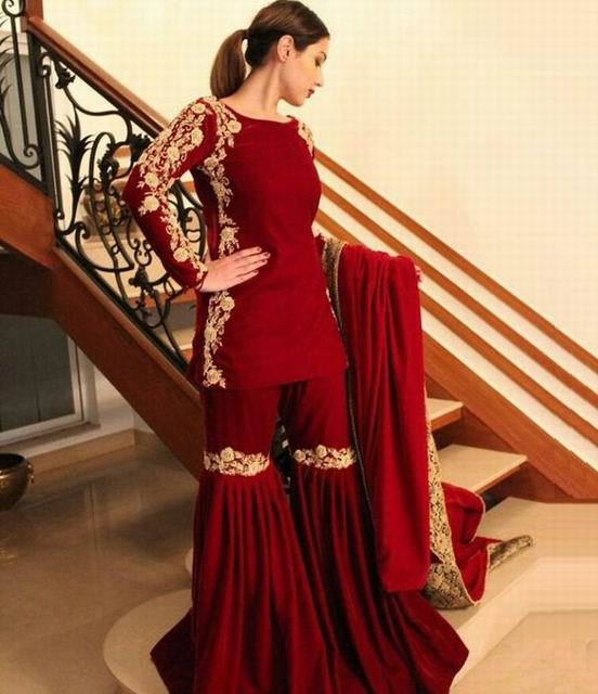 f81dad2359 Top designs of Sharara for brides and casual events | NetMag Pakistan